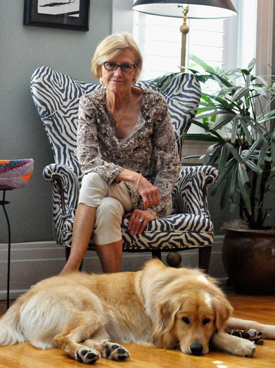 Lyn-with-Dog