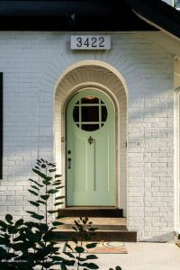 Louisville Kentucky Home Staging, Louisville Kentucky Interior Designer, Louisville Kentucky Renovation Designer, Lexington Road, Residential Home Staging, Gleaming Hardwood Flooring, Stained Trim, Front Door