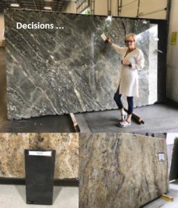 Before Photo, Granite Selections