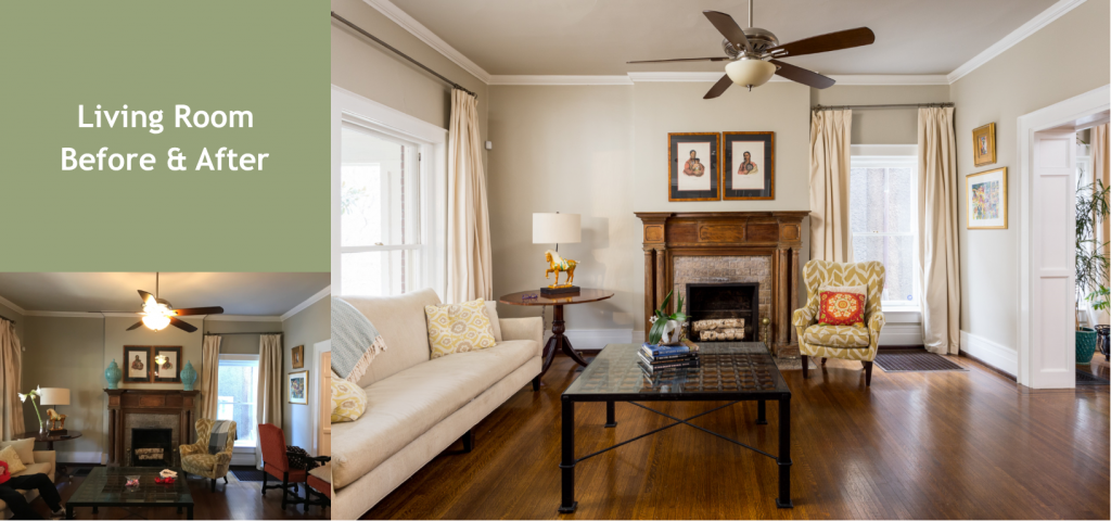 Louisville Kentucky Home Staging, Living Spaces By Lyn, Home Staging, Cherokee Parkway Home Staging, Lyn Mabry, Jennifer Tegeler, Residential Home Staging