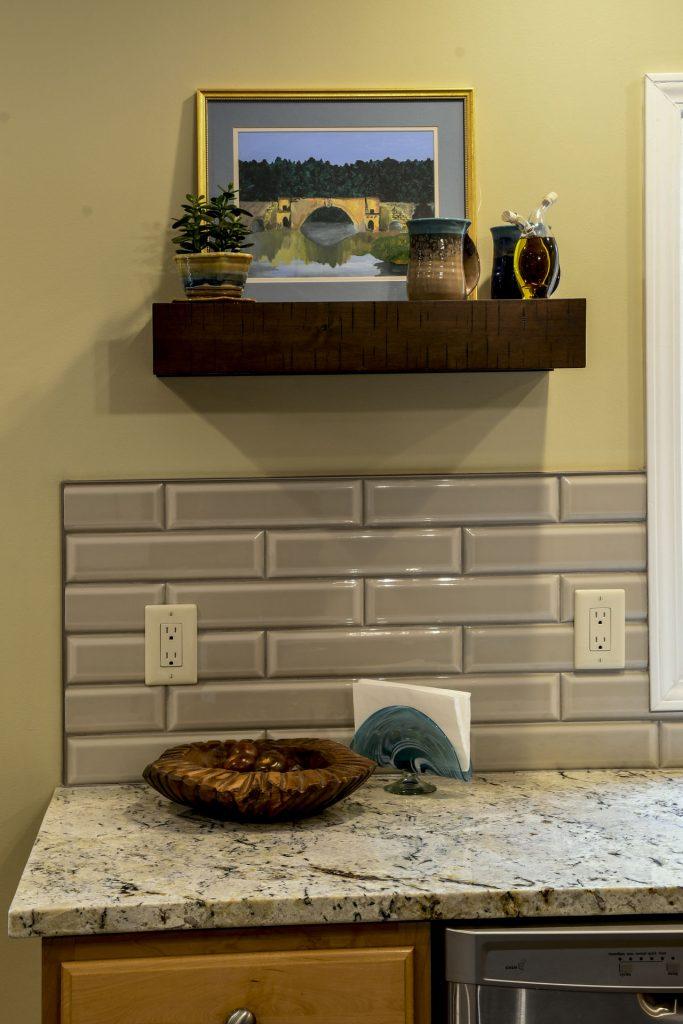 Louisville Kentucky Home Renovation, Kitchen Renovation, Tile Back Splash, Granite Countertops