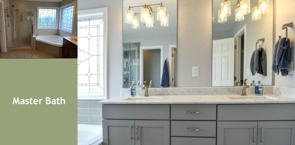 Living Spaces by Lyn, Louisville Kentucky Interior Design, Kim Falvey, Louisville Kentucky Renovation Design, Louisville Kentucky Home Staging, Master Bath Design
