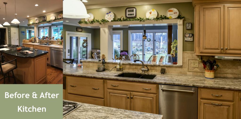 Louisville Kentucky Interior Design, Living Spaces By Lyn, Kitchen Design, Kim Falvey, Kitchen Cabinets, Granite Counter Tops, Stainless Appliances, Kitchen Island, Undermount Sink, Gas Range, Tile Backsplash