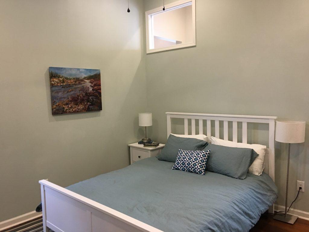 Living Spaces By Lyn, Louisville Kentucky Home Renovation, Air B&B, Bedroom Renovation, Kim Falvey, Debi Marcum