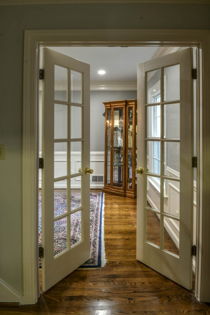 Louisville Kentucky Interior Design, Living Spaces By Lyn, Kitchen Design, Kim Falvey, French Doors, Area Rug, Home Office, Hardwood Flooring